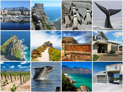 Cape Town Highlights & Hermanus 7 Day Tour Package (4 star accommodation)